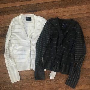 Striped Cardigans